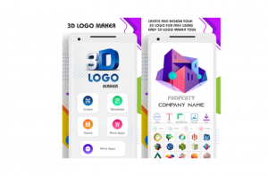 Best android apps- 3D logo maker