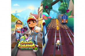 Best android games- Subway Surfers