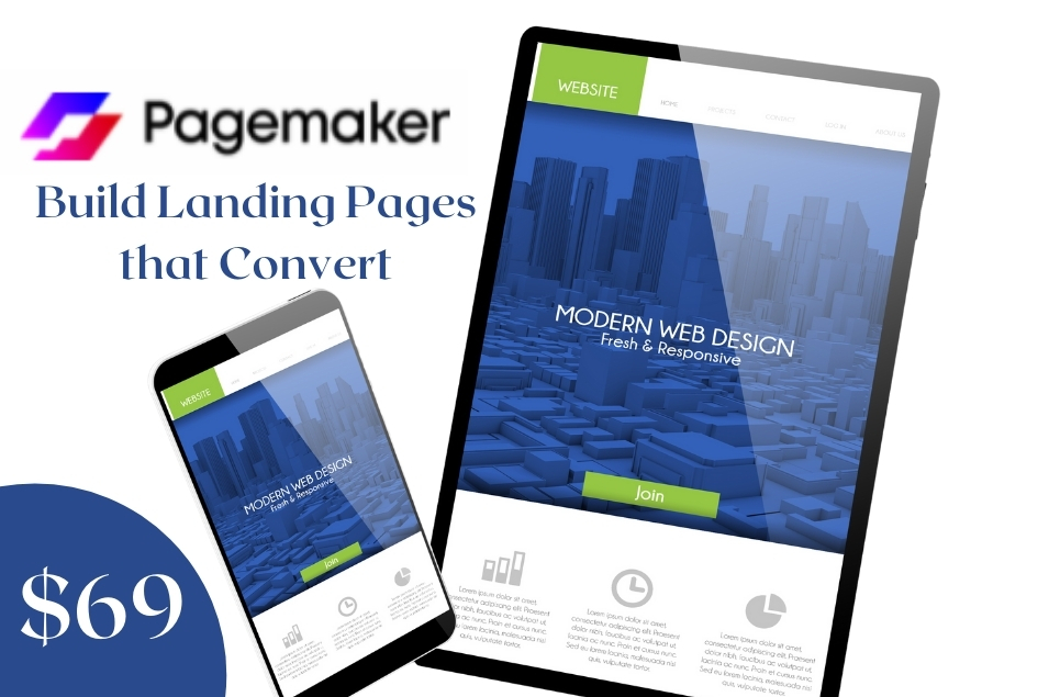 Pagemaker Review Lifetime Deal on Appsumo